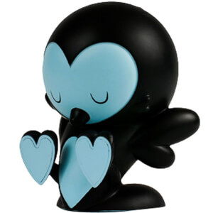 Kidrobot Lovebirds Black Edition