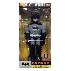 "Funko Batman Robot Vinyl 11 Inch Invaders 11"" Figure - SDCC 2012 (Black variant)"