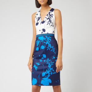 Ted Baker Women's Tilliai Bluebell Bodycon Dress - Dark Blue