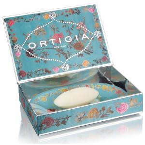 Ortigia Florio Glass Plate & Soap Set: Image 2