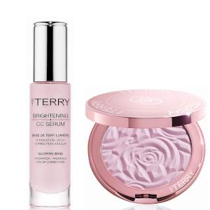By Terry Brightening CC Serum & Powder Exclusive Duo - Rose Elixir