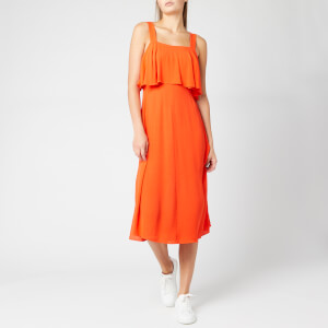 Whistles Women's Jamima Tiered Dress - Flame