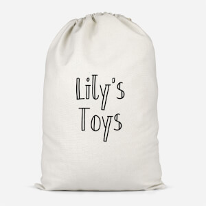 Girl's Named Toys Cotton Storage Bag