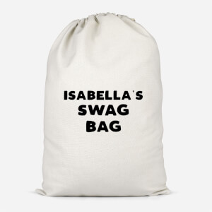 Girl's Named Swag Cotton Storage Bag