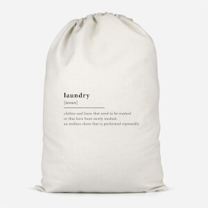 Laundry Definition Cotton Storage Bag