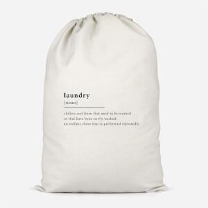 Laundry Definition Cotton Storage Bag
