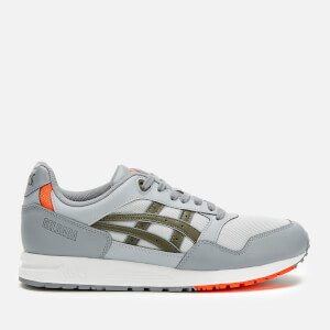 Asics Men's Lifestyle Gel-Saga Trainers - Glacier Grey/Mantle Green