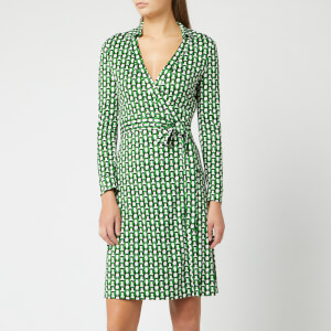 Diane von Furstenberg Women's New Jeanne Two Dress - Vintage Trellis Lawn
