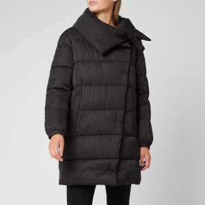 HUGO Women's Fasalli Long Puffa Coat - Black
