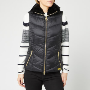 Barbour International Women's Nuburg Gilet - Black
