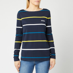 Barbour Women's Hawkins Stripe Top - Navy