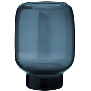 Stelton Small Hoop Vase - 14cm - Midnight Blue