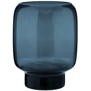 Stelton Small Hoop Vase - 18cm - Midnight Blue