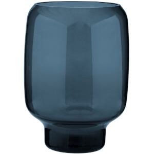 Stelton Small Hoop Vase - 20cm - Midnight Blue