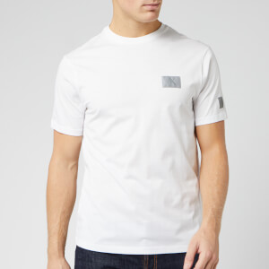 Armani Exchange Men's Reflective Logo T-Shirt - White