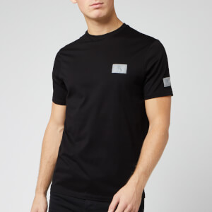 Armani Exchange Men's Reflective Logo T-Shirt - Black
