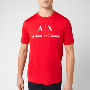Armani Exchange Men's Classic Logo T-Shirt - Absolute Red