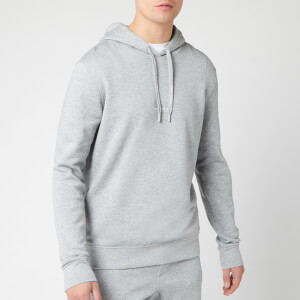 Armani Exchange Men's Small Logo Popover Hoodie - Alloy Heather