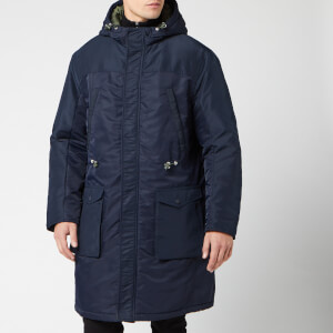 Armani Exchange Men's Trench Coat - Navy