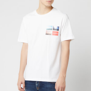 Calvin Klein Jeans Men's Photographic Logo T-Shirt - Bright White