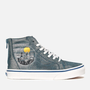 Vans X Harry Potter Kid's Hogwarts Sk8-Hi Trainers - Blue