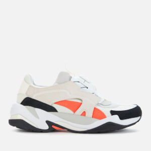 Puma Men's Thunder Disc Trainers - Puma White/Grey Violet/Puma Black