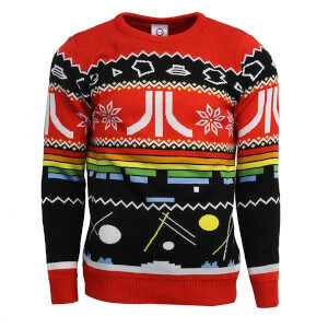 Atari Kintted Christmas Jumper