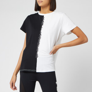 Puma X Karl Lagerfeld Women's Short Sleeve Open Back T-Shirt - Puma Black