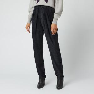 Isabel Marant Women's Fany Trousers - Faded Black