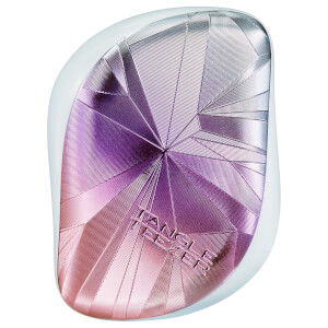 Tangle Teezer Compact Styler Detangling Hairbrush - Smashed Holo Blue