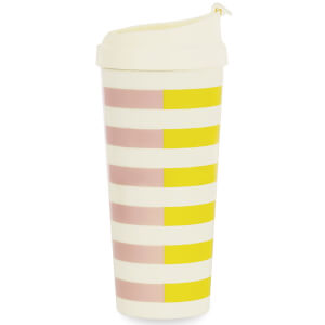Kate Spade Thermal Mug Two Tone Stripes