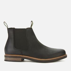 Barbour Men's Farsley Leather Chelsea Boots - Black