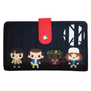Loungefly Stranger Things Chibi Characters Wallet