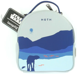 Loungefly Star Wars Mini Faux Leather Backpack With Removable Pouch