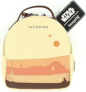 Loungefly Star Wars Tatooine Mini Faux Leather Backpack