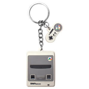 Super Nintendo Entertainment System - 3D Keychain
