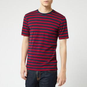 Armor Lux Men's Marinière T-Shirt - Navire/Braise