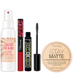 Rimmel Exclusive Make-up Essentials Kit (Worth £23.96)