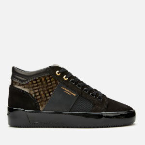 Android Homme Men's Propulsion Mid Geo Trainers - Gold Black Gloss Carbon