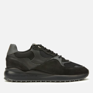 Android Homme Men's Santa Monica Trainers - Black Carbon Fibre