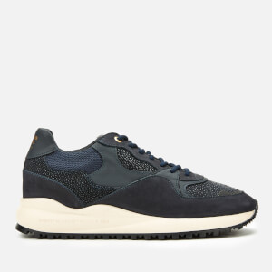 Android Homme Men's Santa Monica Trainers - Navy Stingray Suede