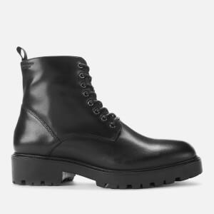 Vagabond Women's Kenova Leather Lace-Up Boots - Black
