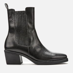 Vagabond Women's Simone Leather Heeled Chelsea Boots - Black