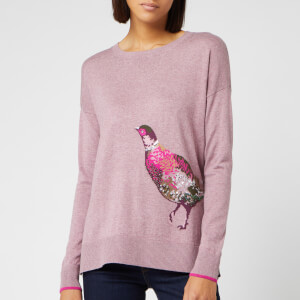 Joules Women's Meryl Luxe Pheasant Jumper - Purple