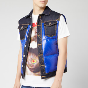 Dsquared2 Men's Gilet - Blue/Bluette