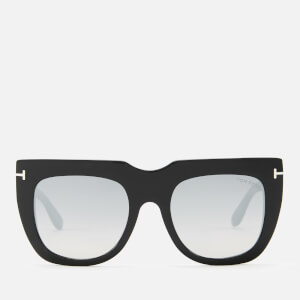 Tom Ford Women's Thea Sunglasses - Shiny Black/Smoke Mirror