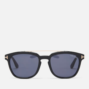 Tom Ford Men's Holt Sunglasses - Shiny Black/Smoke