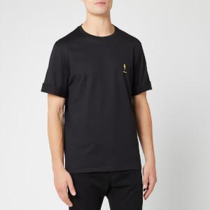 Neil Barrett Men's Anniversary T-Shirt - Black/Yellow