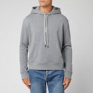 Neil Barrett Men's Iconic Travel Logo Sweatshirt - Grey