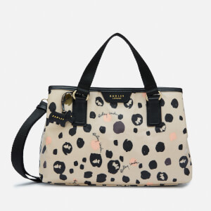 Radley Women's Bubble Dog Medium Zip Top Multiway Bag - Dove Grey